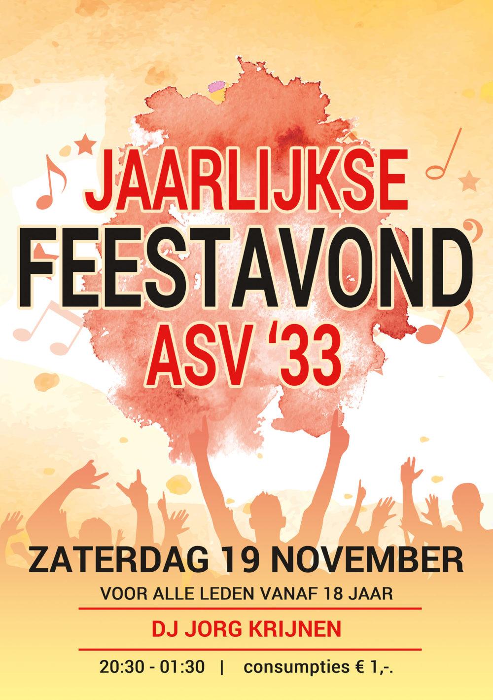 Poster design asv'33 Aarle-Rixtel