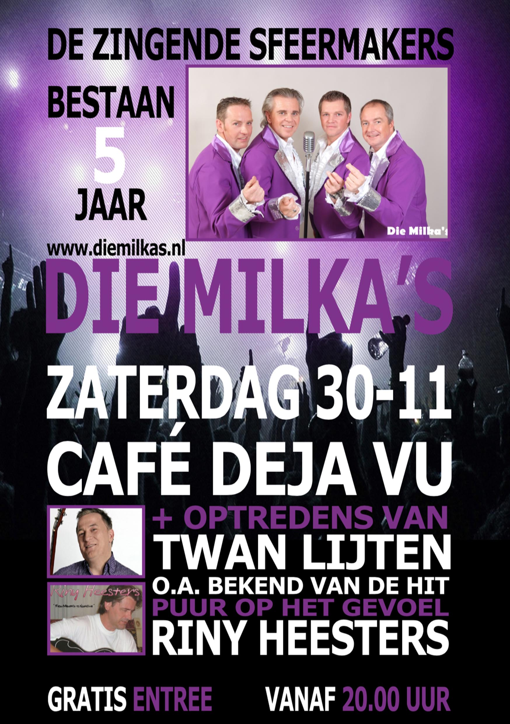 Poster Design cafe DejaVu Thijs Design Laarbeek