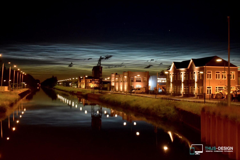 Lichtende wolken Beek en Donk (Laarbeek)