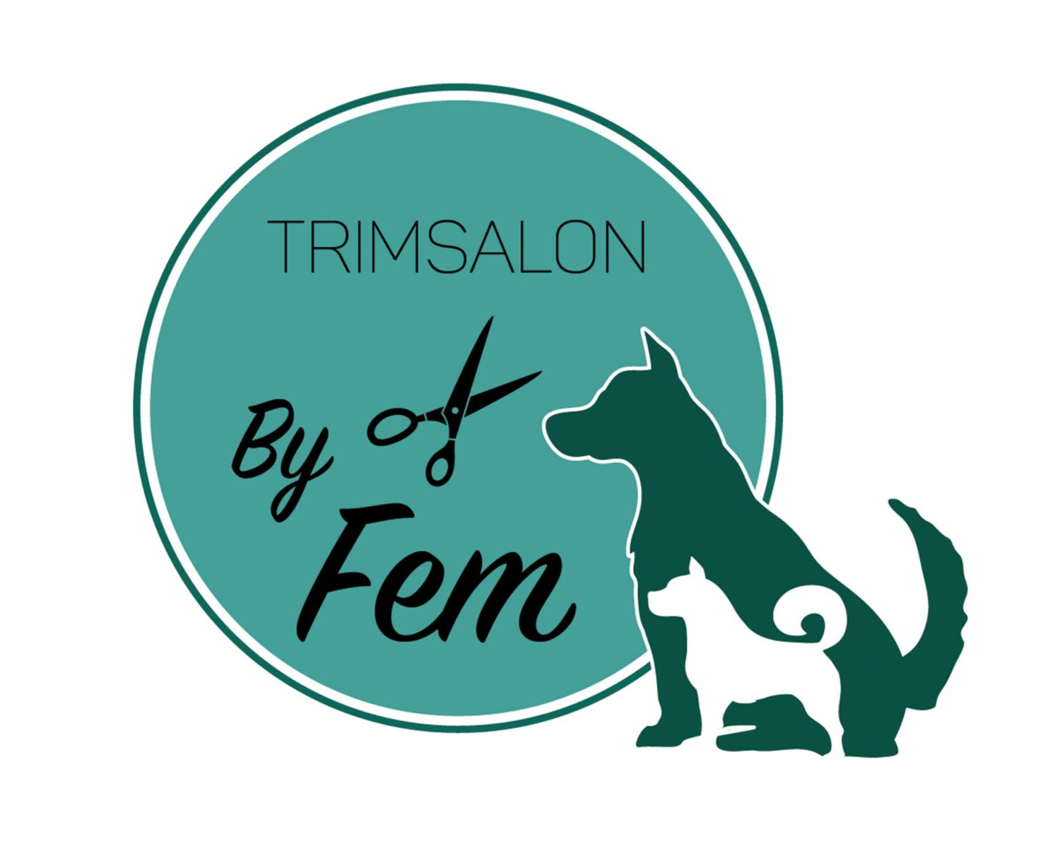 Logo trimsalon by fem