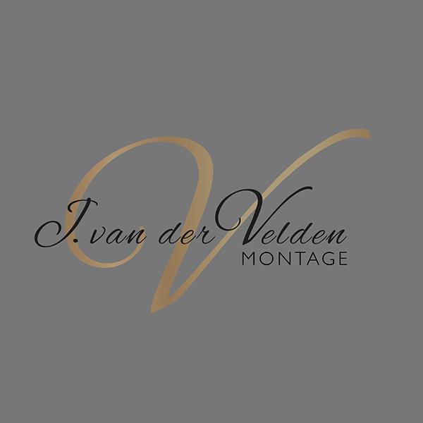 Logo van der velden montage