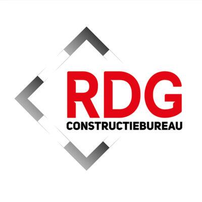 Logo RDG constructiebureau huisstijl
