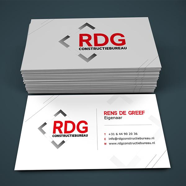 RDG constructiebureau huisstijl