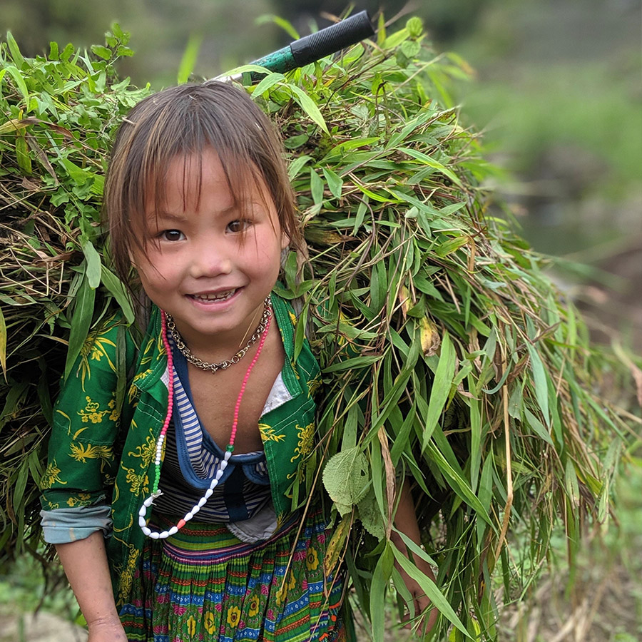 Kind in Ha Giang loop