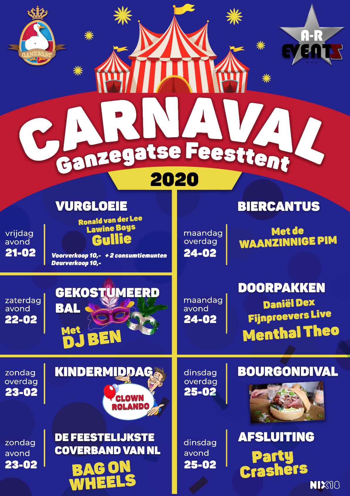 Poster carnaval 2020