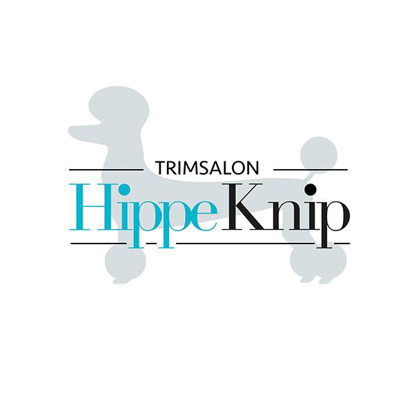 Logo Trimsalon Hippe Knip