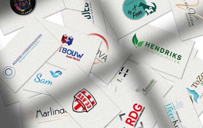Een verzameling van mijn logo's
